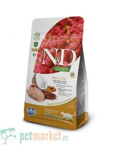 N&D Grain Free: Quinoa Skin and Coat, Prepelica