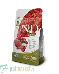 N&D Quinoa: Hrana za mačke sa problemima urinarnog trakta Urinary, Kinoa & Pačetina