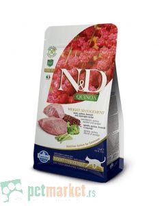 N&D Quinoa: Hrana za kontrolu težine Cat Weight Management, Kinoa & Jagnjetina