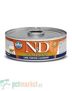 N&D Grain Free: Vlažna hrana za mačke, Bundeva i Jagnjetina