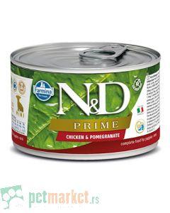 N&D Grain Free: Vlažna hrana za štence Prime Mini Puppy, Nar i PiletinaN&D Grain Free: Vlažna hrana za štence Prime Mini Puppy, Nar i Piletina