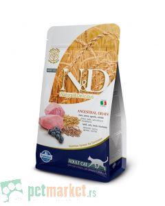 N&D Low Grain: Jagnjetina & Borovnica
