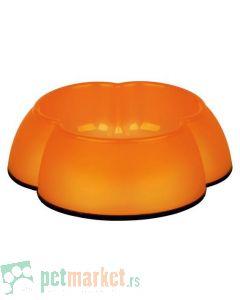 Trixie: Plastična posuda Cvet, narandžasta