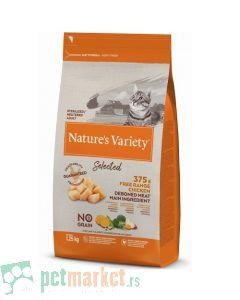 Nature's Variety: Hrana za sterilisane mačke Selected, Piletina