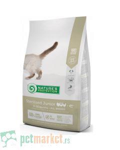 Nature`s Protection Dry Feed: Hrana za mlade sterilisane mačke, Junior Sterilised, Živina