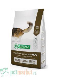 Nature`s Protection Dry Feed: Hrana za sterilisane dugodlake mačke Longhair Sterilised, Živina