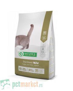 Nature`s Protection Dry Feed: Hrana za sterilisane mačke Adult Sterilised, Živina