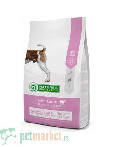 Nature`s Protection Super Premium: Hrana sa štence i mlade pse Junior All Breeds, Jagnjetina