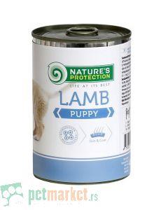 Nature's Protection: Valžna hrana za štence Puppy, Jagnjetina, 400 gr