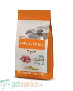 Nature's Variety: Hrana za pse Mini Adult Original Grain, Tuna, 1.5 kg