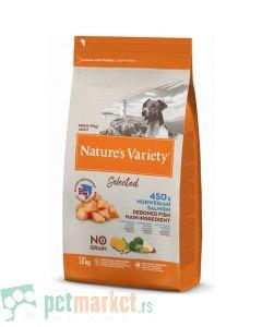 Nature's Variety: Hrana za pse Selected Mini Adult, Losos