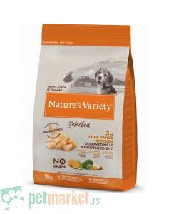 Nature's Variety: Hrana za štence Selected Junior, Piletina