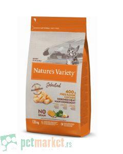 Nature's Variety: Hrana za mačiće Selected, Piletina
