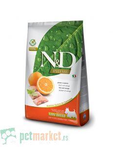 N&D Prime: Hrana za pse Mini Adult, Riba i Pomorandža