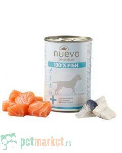 Nuevo: Vlažna hrana za osetljive pse Monoprotein Sensitive, Riba 3 x 375 gr