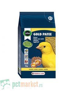 Orlux: Jajčana, meka hrana za ptice Gold Patee Žuti