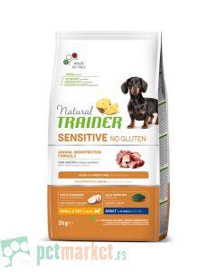 Trainer Sensitive: Hrana za odrasle pse malih radsa Adult Mini, Pačetina, 7 kg