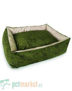 Pet Line: Krevet od mebla za pse Exclusive Zeleno-Bež