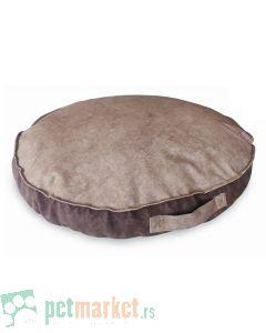 Pet Line: Ovalni jastuk od mebla za pse Exclusive Bež-Braon