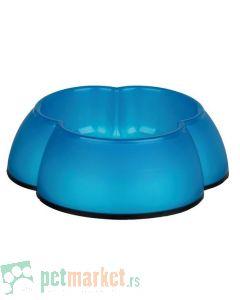 Trixie: Plastična posuda Cvet, plava