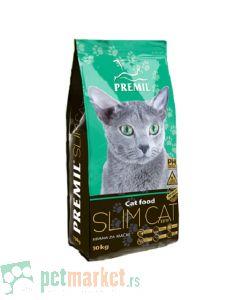 Premil: Hrana za mačke sa prekomernom telesnom masom Slim Cat, 10 kg
