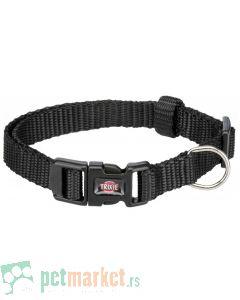 Trixie: Ogrlica za pse Premium, crna