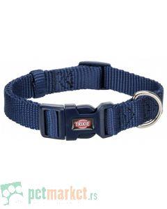 Trixie: Ogrlica za pse Premium, indigo plava