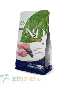 N&D Prime: Hrana za odrasle mačke, Jagnjetina & Borovnica