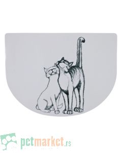 Trixie: Plastična podloga za posude Pussy Cat