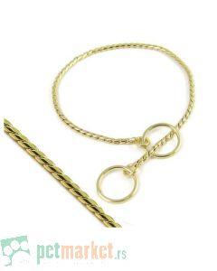 Pet Hardvare: Izložbena ogrlica Gold Snake