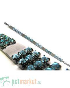 Pet Hardvare: Dijamantska ogrlica Gracia Blue