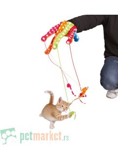Trixie: Rukavica igračka za mace