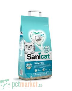 Sanicat: Posip za mačke Oxygen Power, 8L