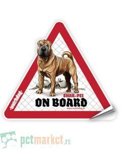 Watchdog: Nalepnica za auto Šarpej