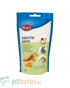 Trixie: Vitaminsko mineralne bombone za glodare sa šargarepom Carrot Drops