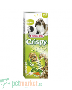Crispy: Poslastica sa povrćem Sticks, 110 gr