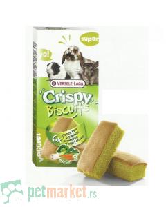 Crispy: Keksići sa povrćem za male glodare Biscuits, 70 gr