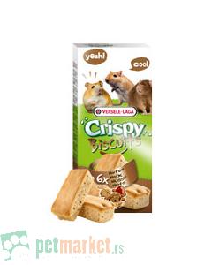 Crispy: Keksići sa lešnicima za male glodare Biscuits, 70 gr