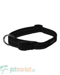 Rogz: Ogrlica za pse Utility, crna