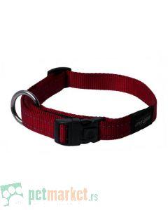 Rogz: Ogrlica za pse Utility, crvena