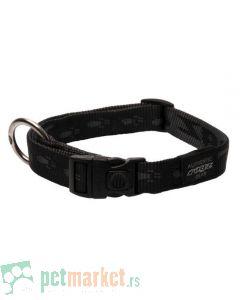 Rogz: Ogrlica za pse Alpinist, crna