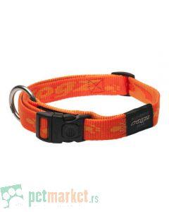 Rogz: Ogrlica za pse Alpinist, narandžasta