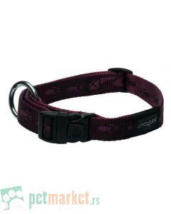Rogz: Ogrlica za pse Alpinist, ljubičasta