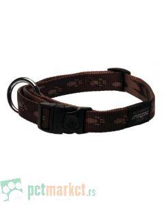 Rogz: Ogrlica za pse Alpinist, braon