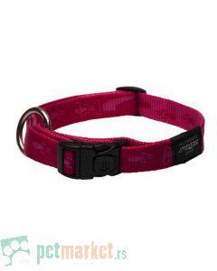 Rogz: Ogrlica za pse Alpinist, roza