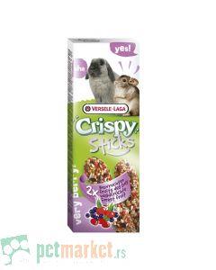 Crispy: Poslastica sa šumskim voćem Sticks, 110 gr