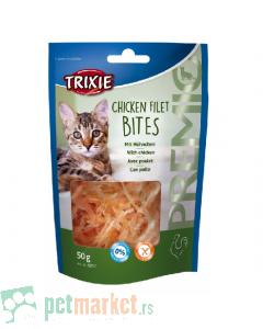 Trixie: Poslastica za mace sa piletinom Chicken Filet Bites, 50 g