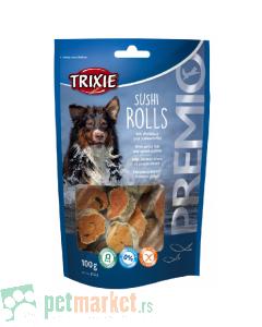 Trixie: Poslastica za pse Riblje rolnice, 100 gr
