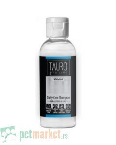 Tauro Pro Line: Šampon za svakodnevnu higijenu belog krzna White Coat Daily Care Shampoo, 65ml