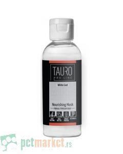Tauro Pro Line: Hranljiva maska za belo krzno White Coat Nouirishing Mask, 65 ml
